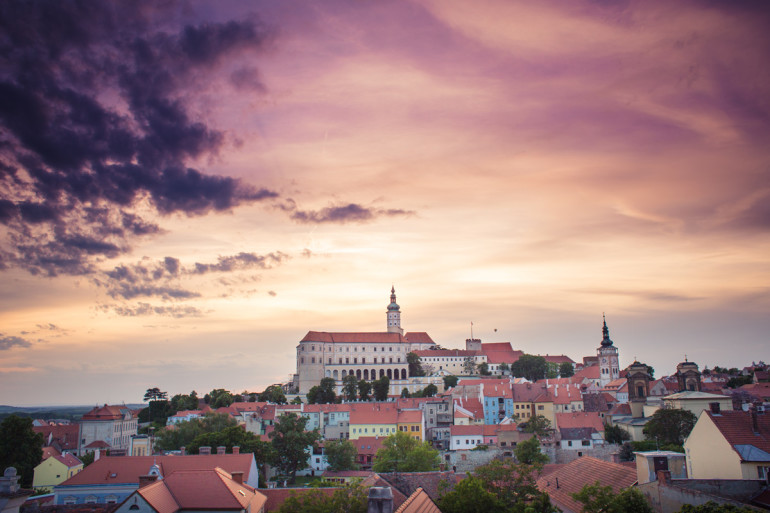 Mikulov City Landscape, Czech Republic